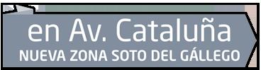 Avenida Cataluña, nueva zona Soto del Gállego