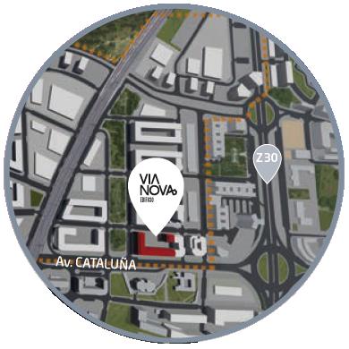 Mapa Edificio Via Nova